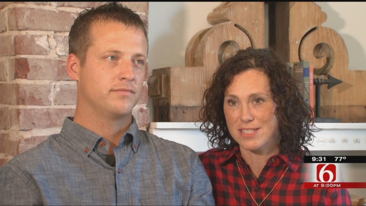 Couple Restores Century Old Home In Broken Arrow