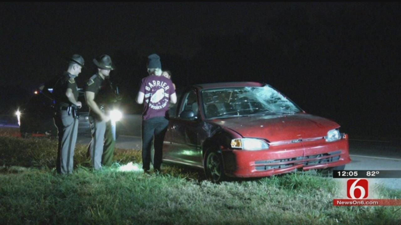 OHP: Woman Hit, Killed After Jumping Out Of Ambulance On Sand Springs Highway