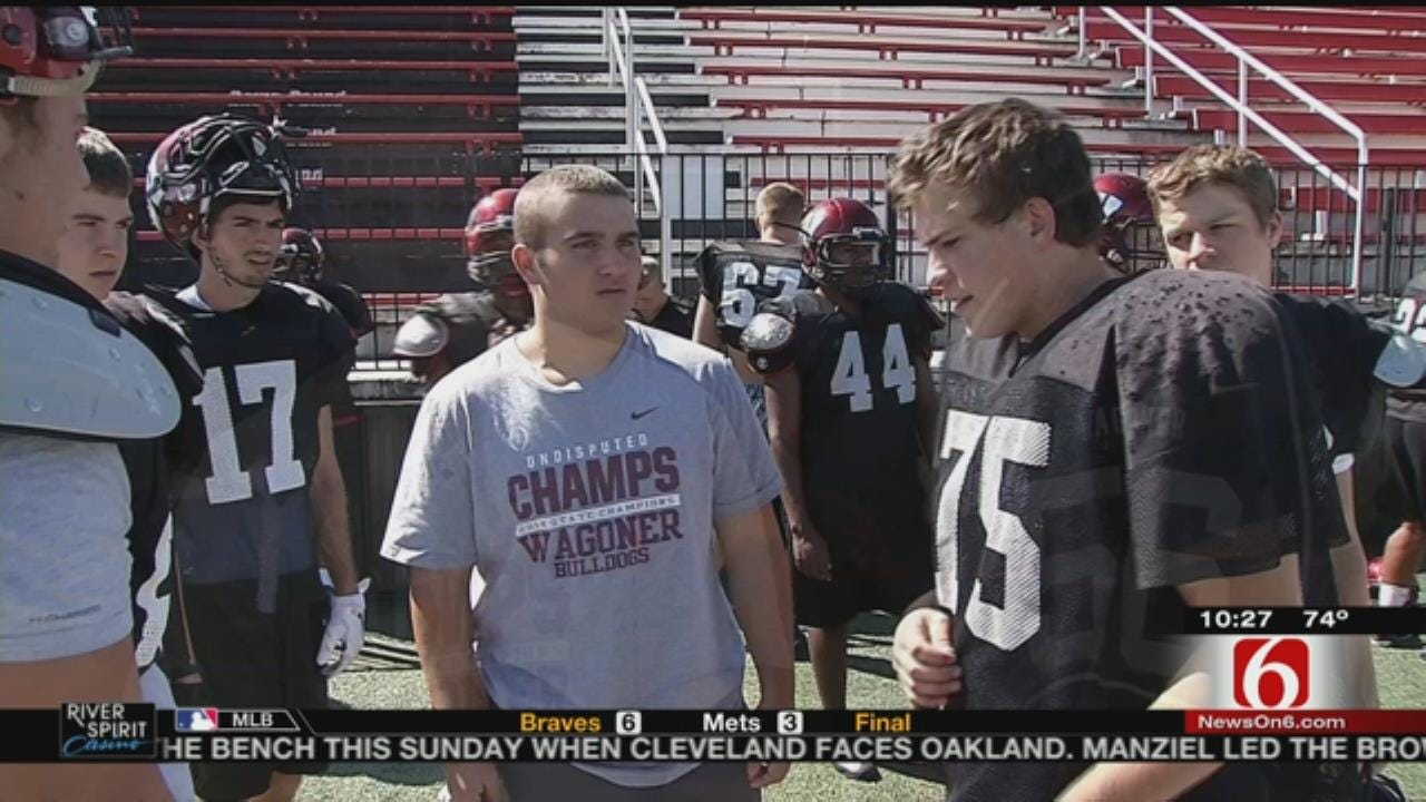 Wagoner HS Football Player Overcomes Cancer, Prepares To Play Again