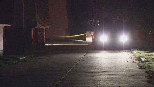 WEB EXTRA: Video From Crime Scene At Tulsa's New Haven Apartments