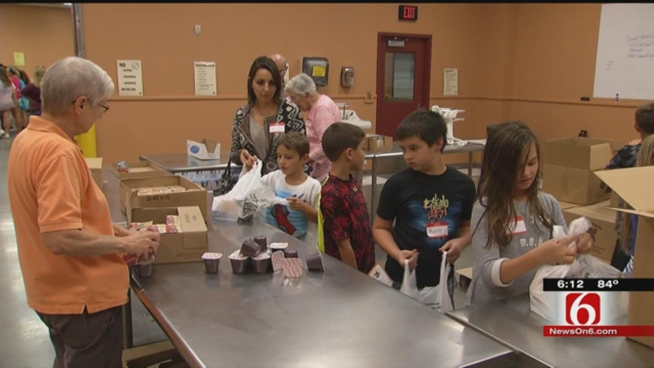 Community Food Bank Celebrates Backpack Program's Birthday