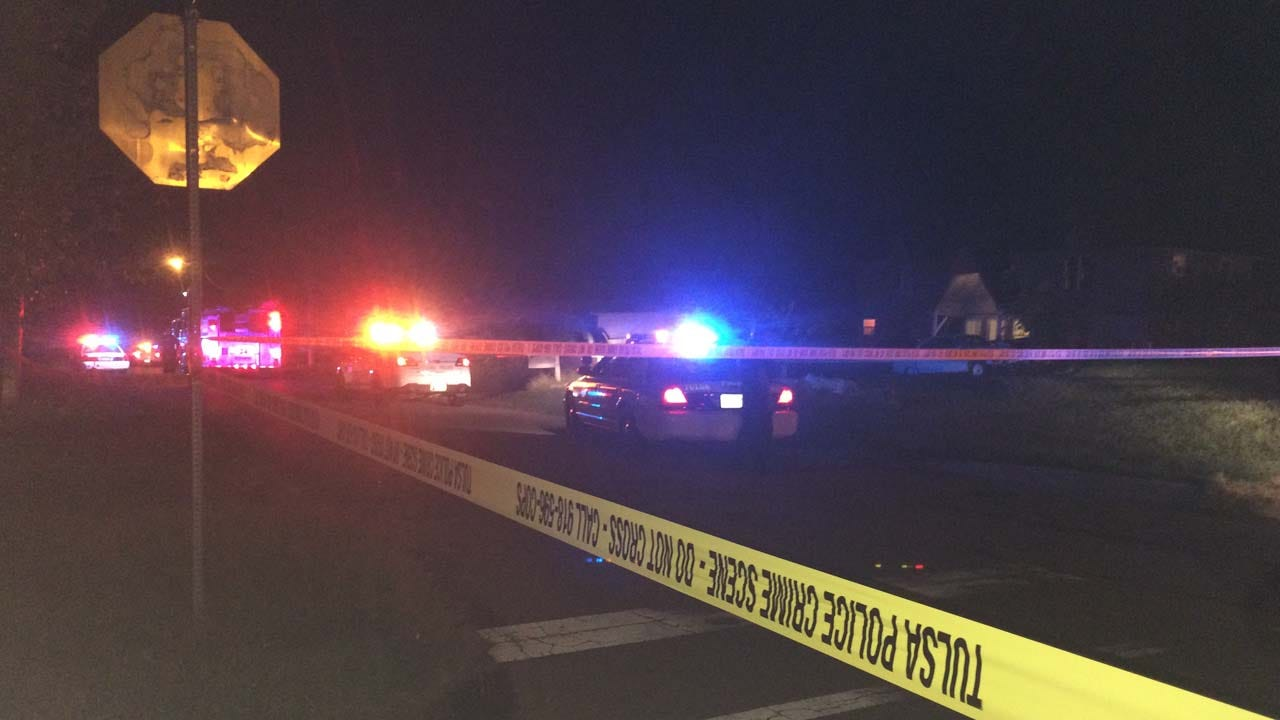 Victim Found Shot In Chest After 'Numerous' Shots Fired At Tulsa Intersection