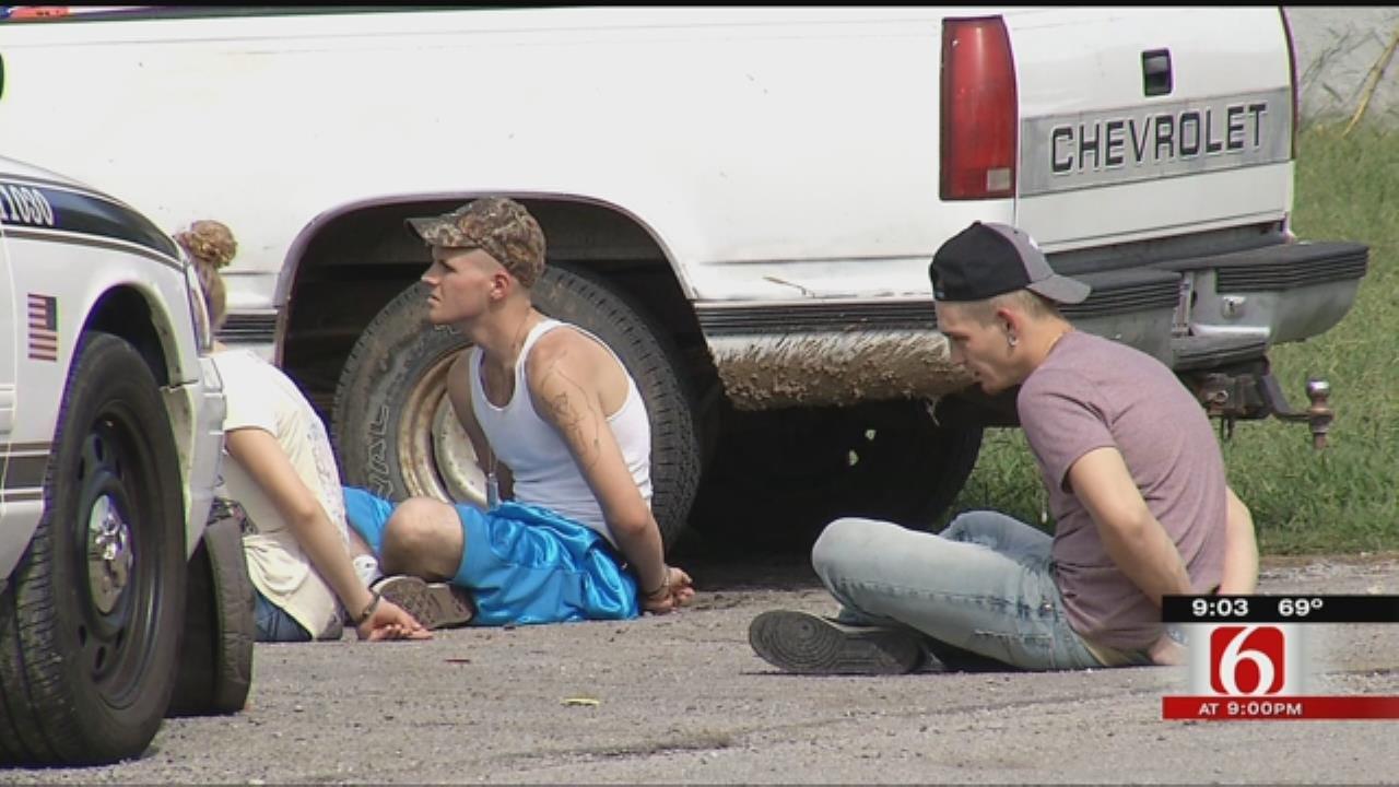 Tulsa Police Investigate Multiple Armed Robberies