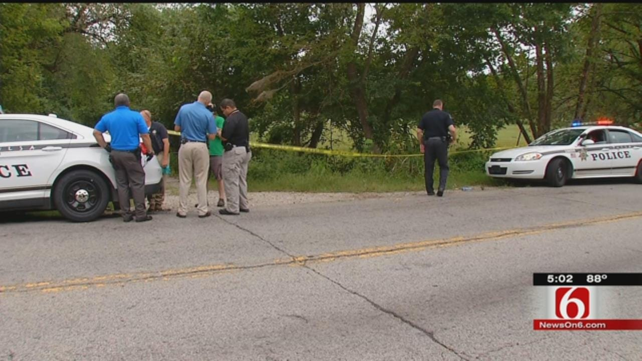 Man's Body Found Along Road In North Tulsa