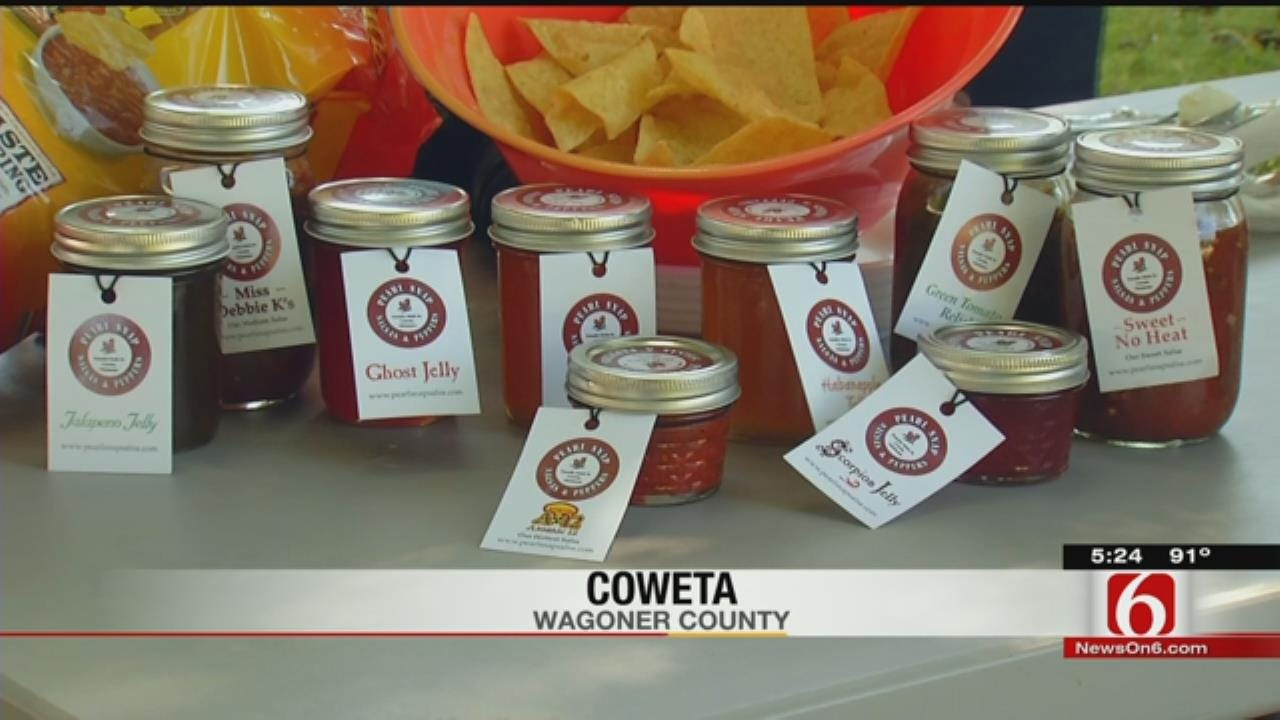 Coweta Man Goes For Hottest Salsa World Record