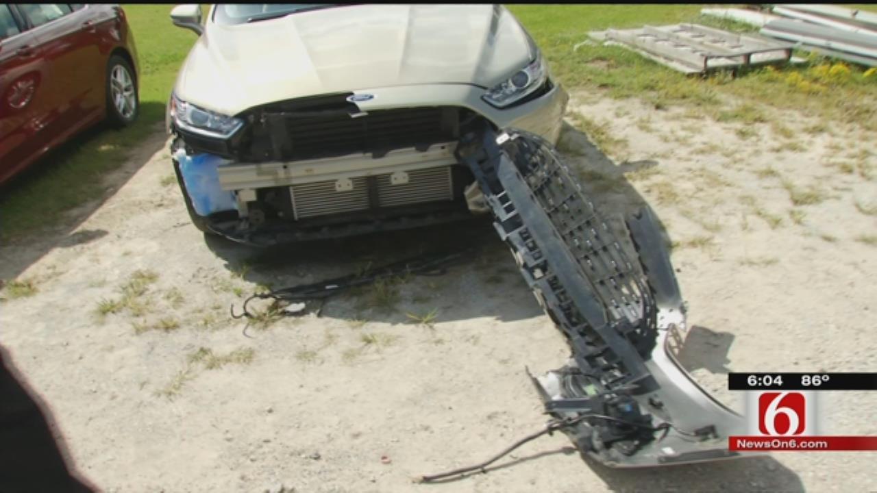 Mysterious Intruder Damages Cars At Vinita Dealership