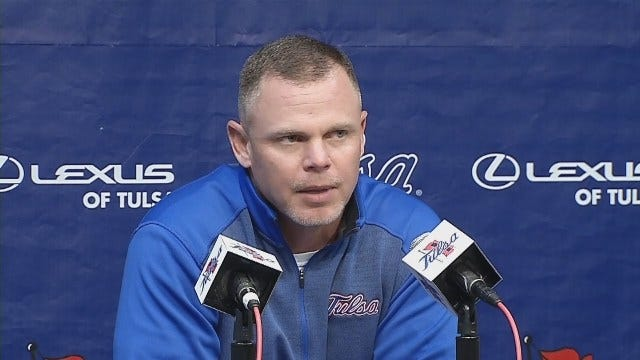 TU Football: Montgomery Discusses Team's Success, Upcoming Game vs. OU