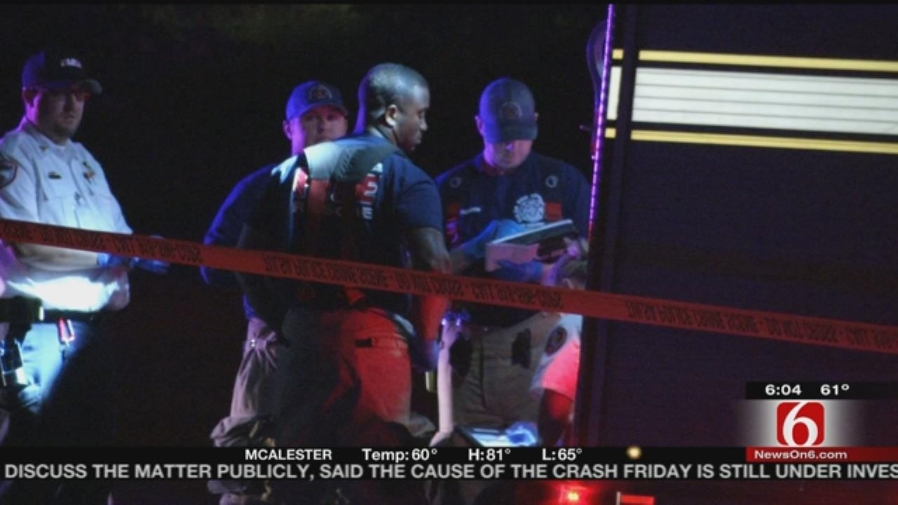 Tulsa Man: Shots Fired In Home Where Grandchildren Sleeping