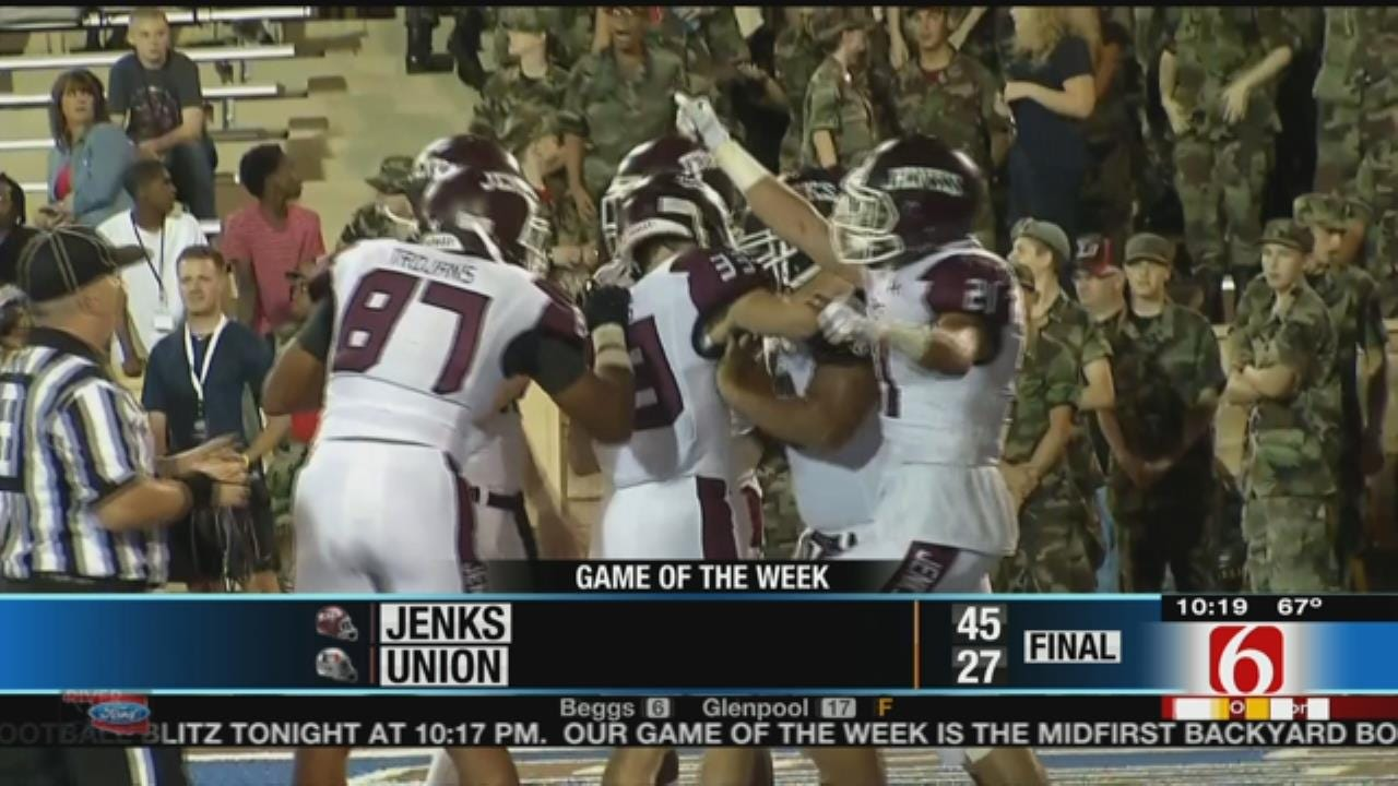 News On 6 Game Of The Week: Jenks vs. Union