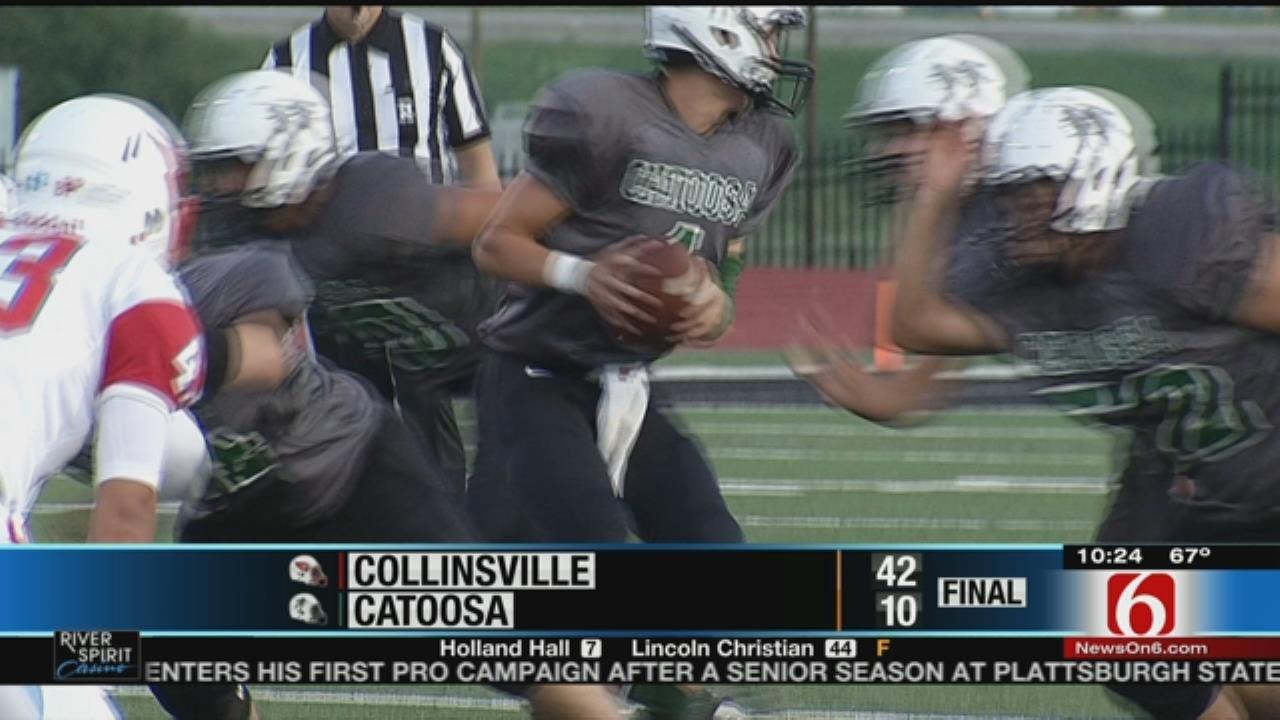 Collinsville Rolls Past Catoosa