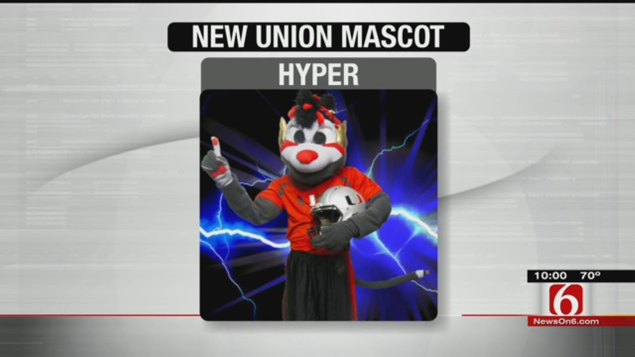Union Unveils New Mascot, Keeps Same Name
