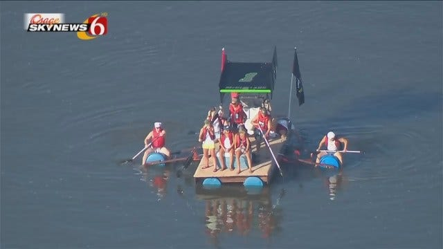WEB EXTRA: Osage SkyNews 6 HD Scenes From Great Raft Race