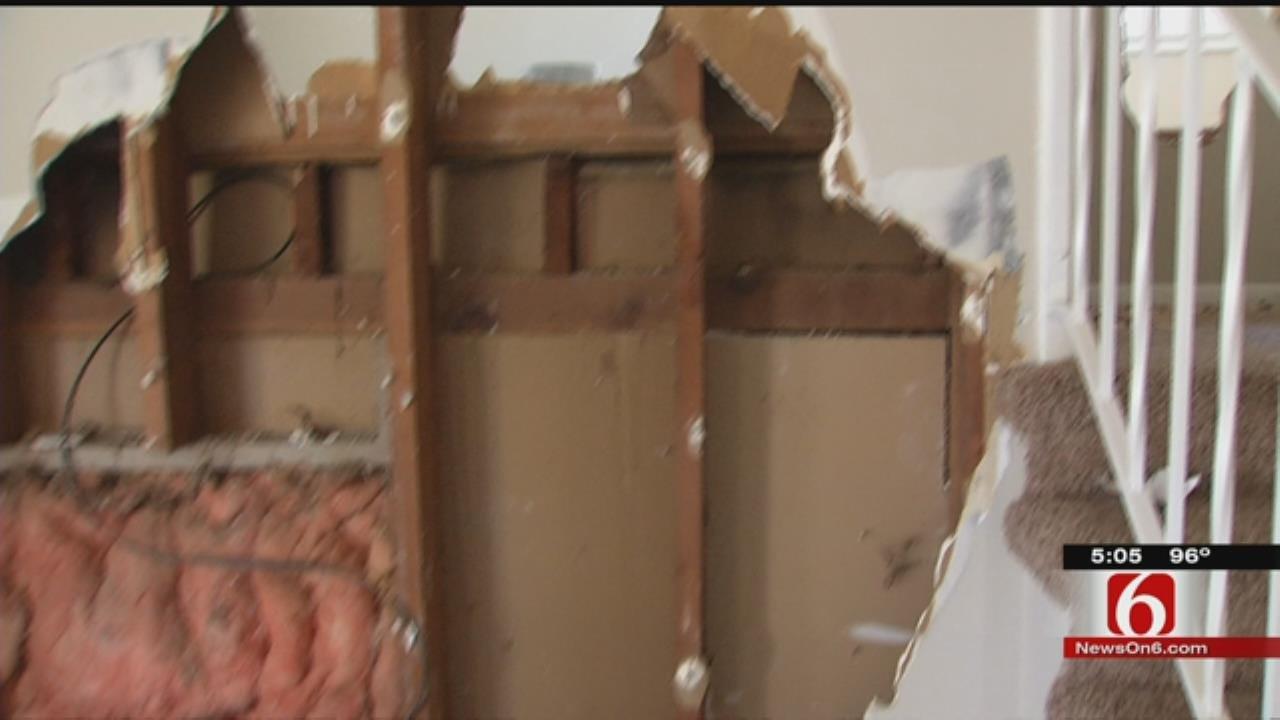 Vandals Destroy Tulsa Home Going To Veteran In Need