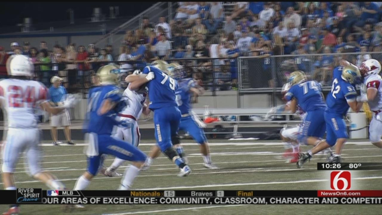 Oologah Overpowers Collinsville