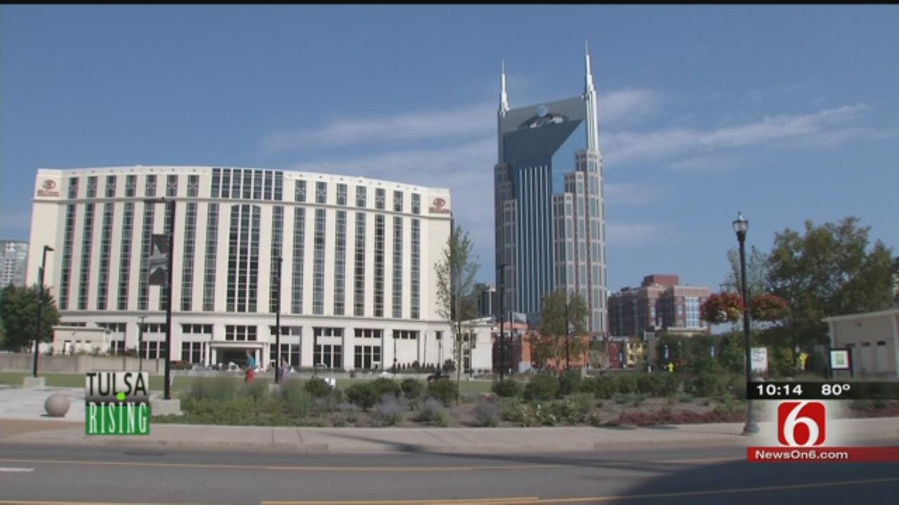 Tulsa Leaders Getting New Ideas By Examining Nashville Growth