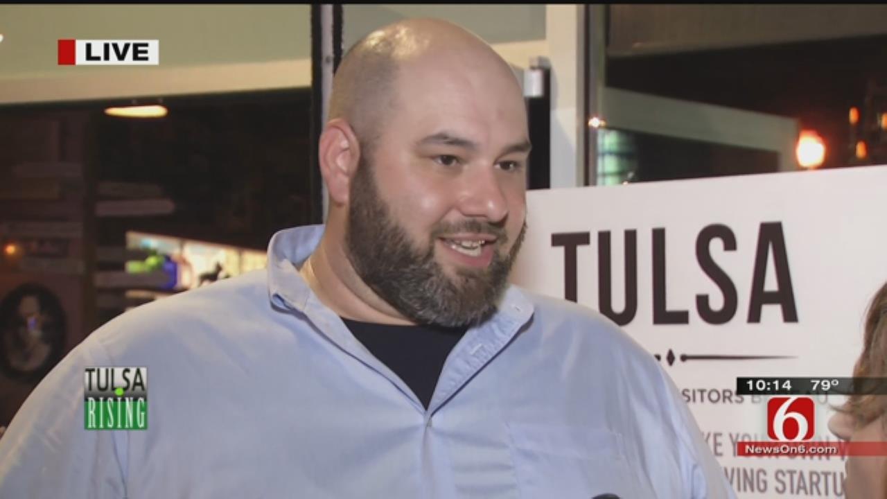 WEB EXTRA: Tulsa Councilor Blake Ewing In Nashville