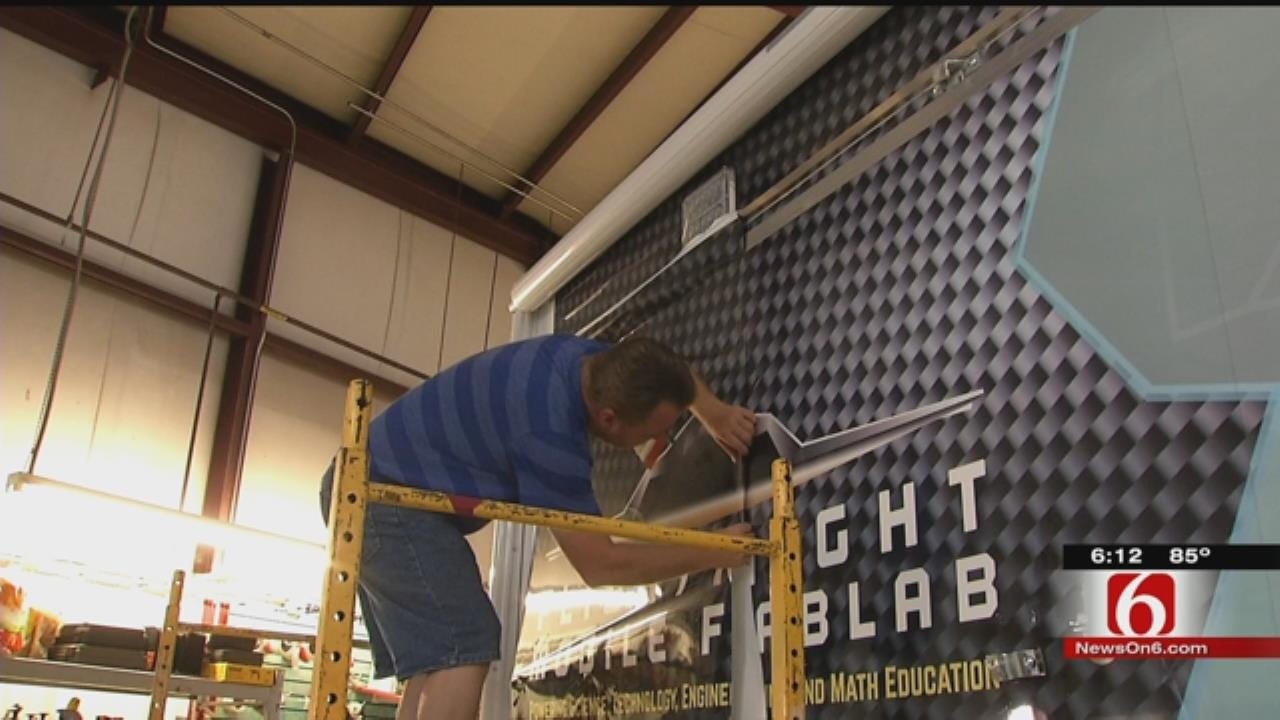 Mobile Fab Lab Makes Learning Easier For Tulsa Students