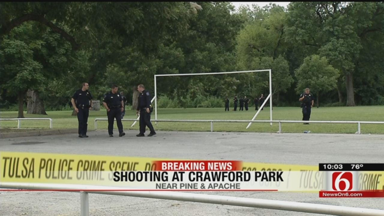 2 Wounded In Crawford Park Shooting, Police Say