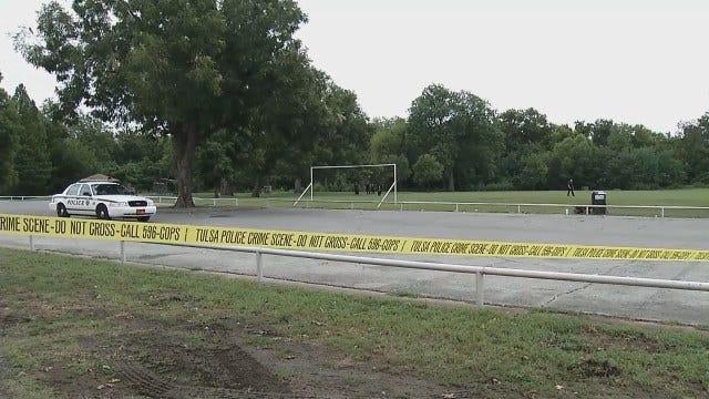 WEB EXTRA: Tulsa Police Investigate Shooting At Crawford Park