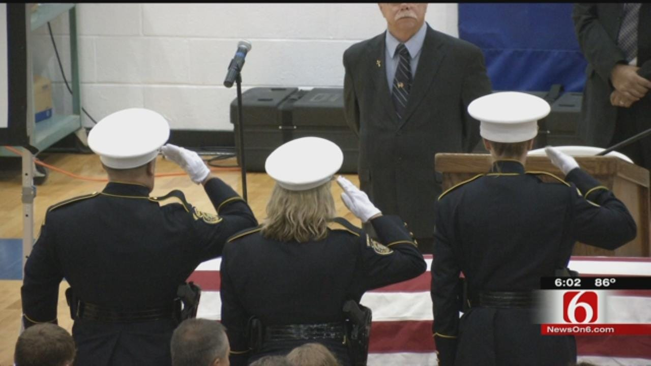 Murdered Sapulpa Police Officer Laid To Rest