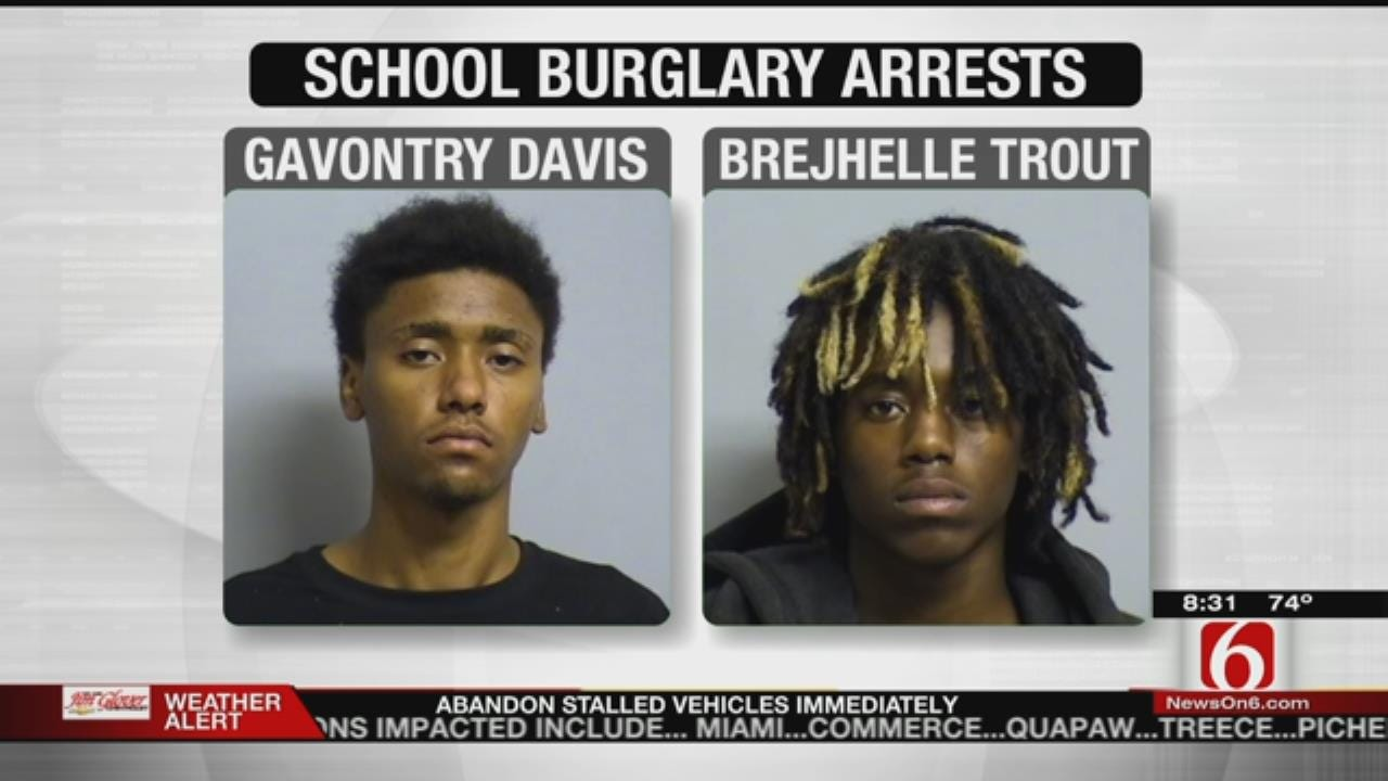 Three Arrested For Breaking Into Tulsa Elementary School