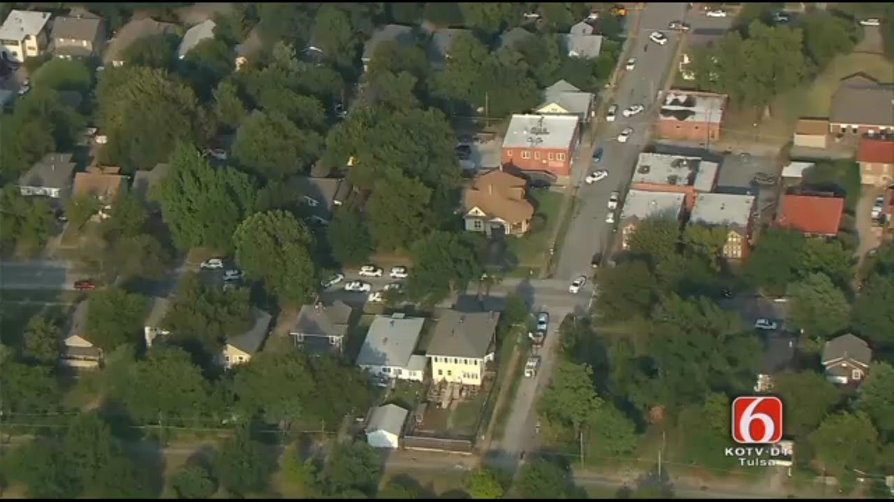 Osage SkyNews 6 Flies Over Police Standoff