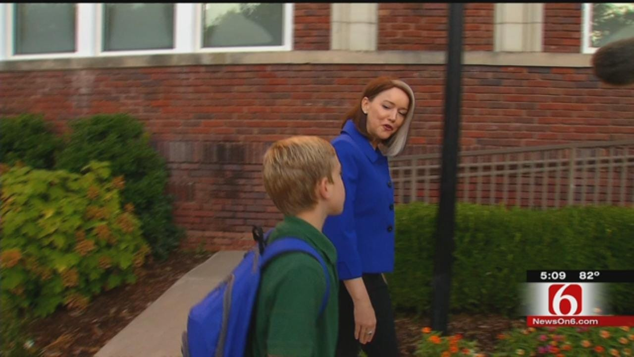TPS Students, Superintendent Enjoy First Day Of School