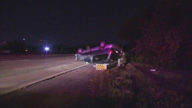 WEB EXTRA: Video From Scene Of Highway 75 Rollover Crash