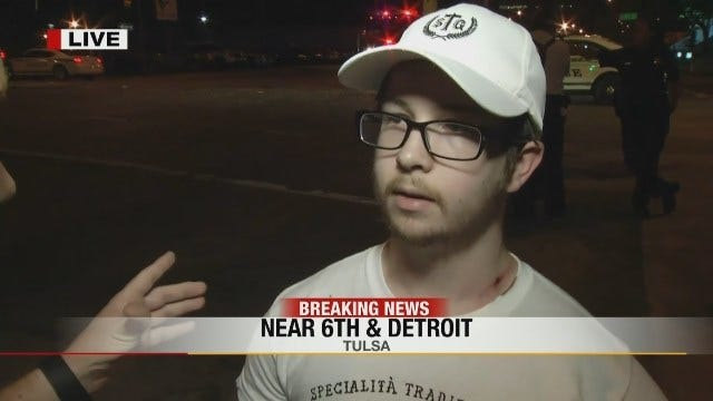 WEB EXTRA: Driver Walks Away After Being Hit By Stolen Car