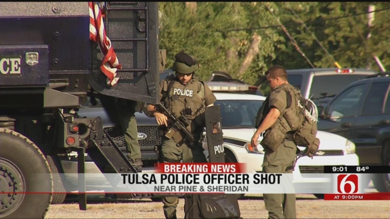 Suspect In TPD Officer Shooting Dies From Self-Inflicted Gunshot Wound