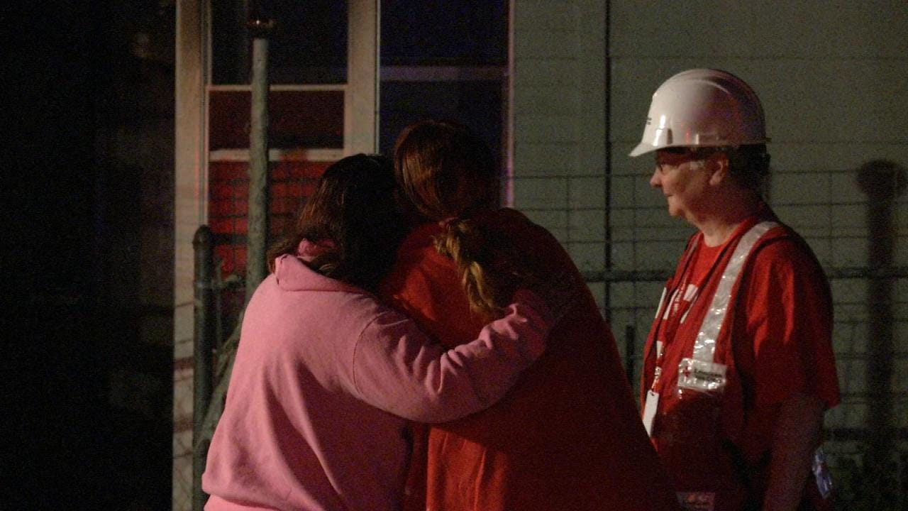 WEB EXTRA: Scenes From Rogers County House Fire