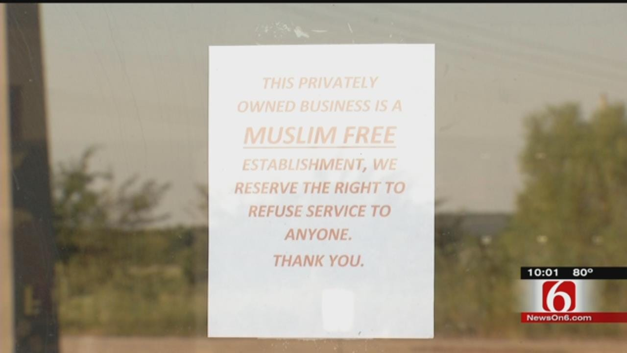 Muskogee County Gun Range A 'Muslim Free Zone'