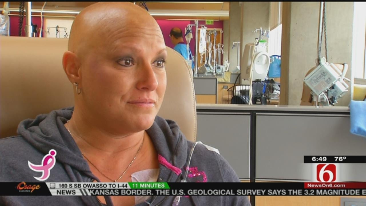 Green Country Woman Celebrates Milestone in Her Breast Cancer Treatment
