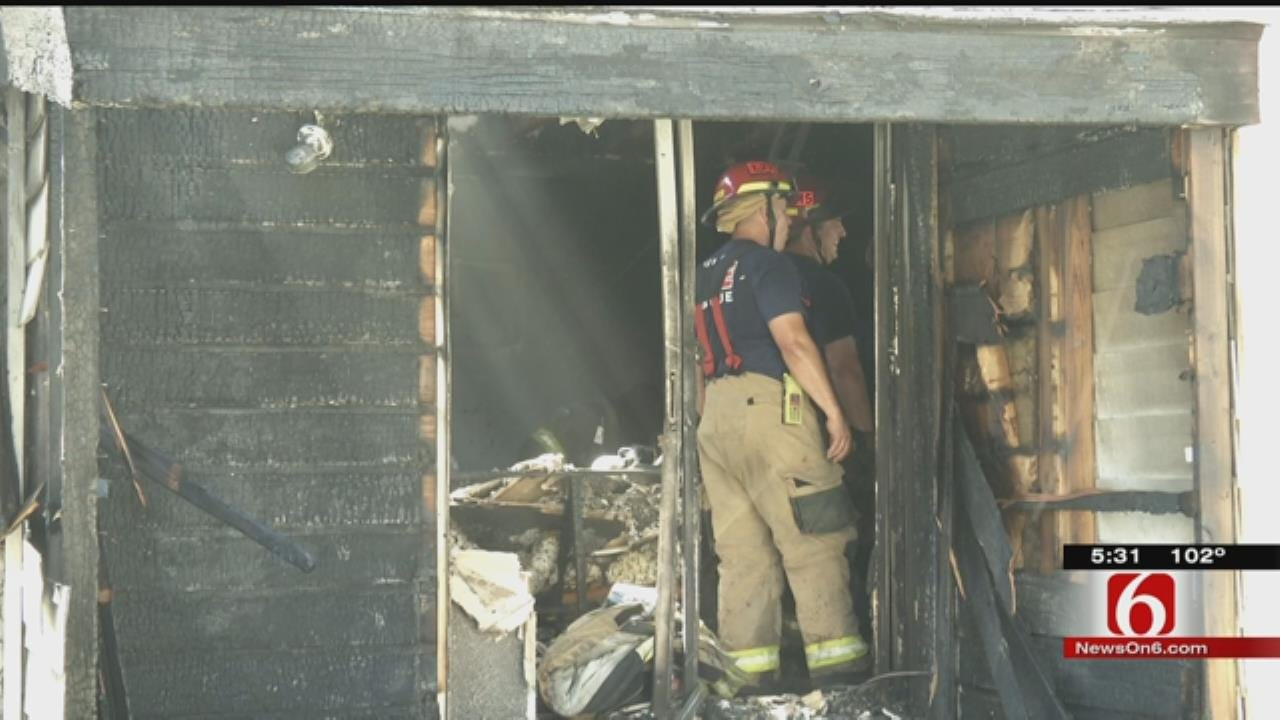 Tulsa Apartment Fire Displaces 16 Families