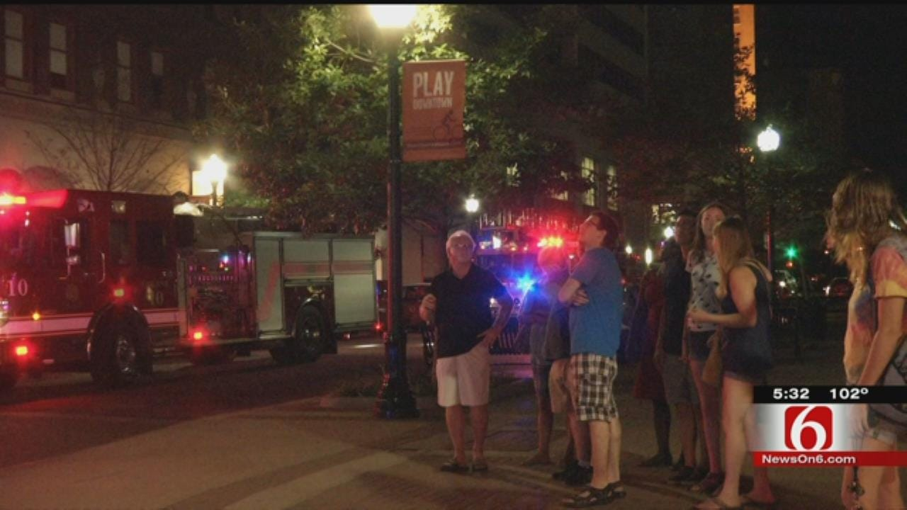 Fire, Water Damages Mayo 420 Building In Downtown Tulsa