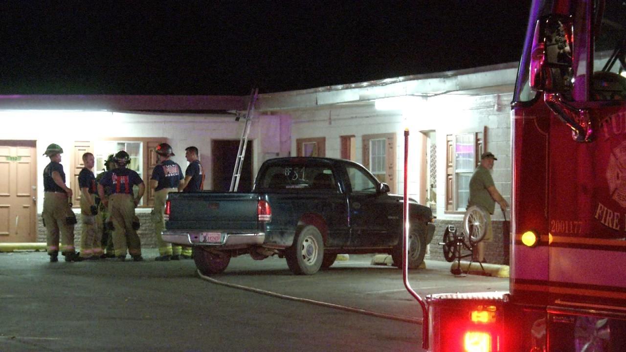 WEB EXTRA: Gas Leak Ignites, Causes Explosion At Tulsa Motel