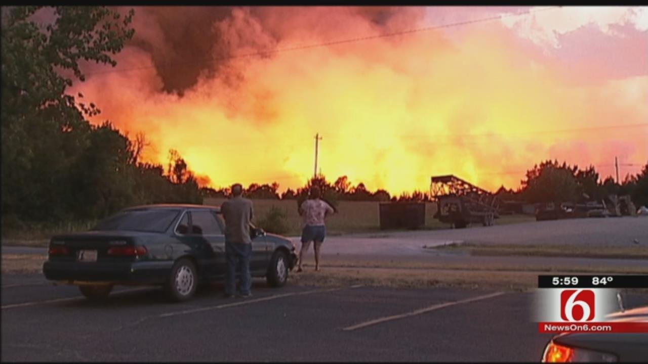 Three Years Later, Mannford Wildfire Victims Still Rebuilding