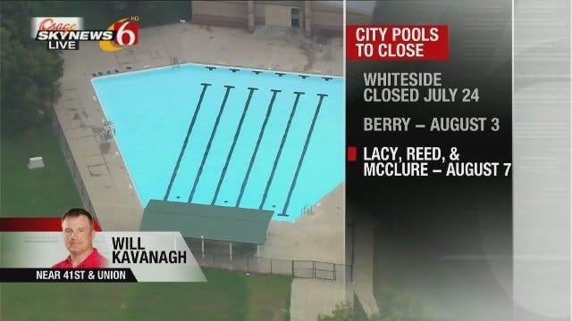 WEB EXTRA: Osage SkyNews 6 HD Checks Out Tulsa City Pools Set To Close For Season