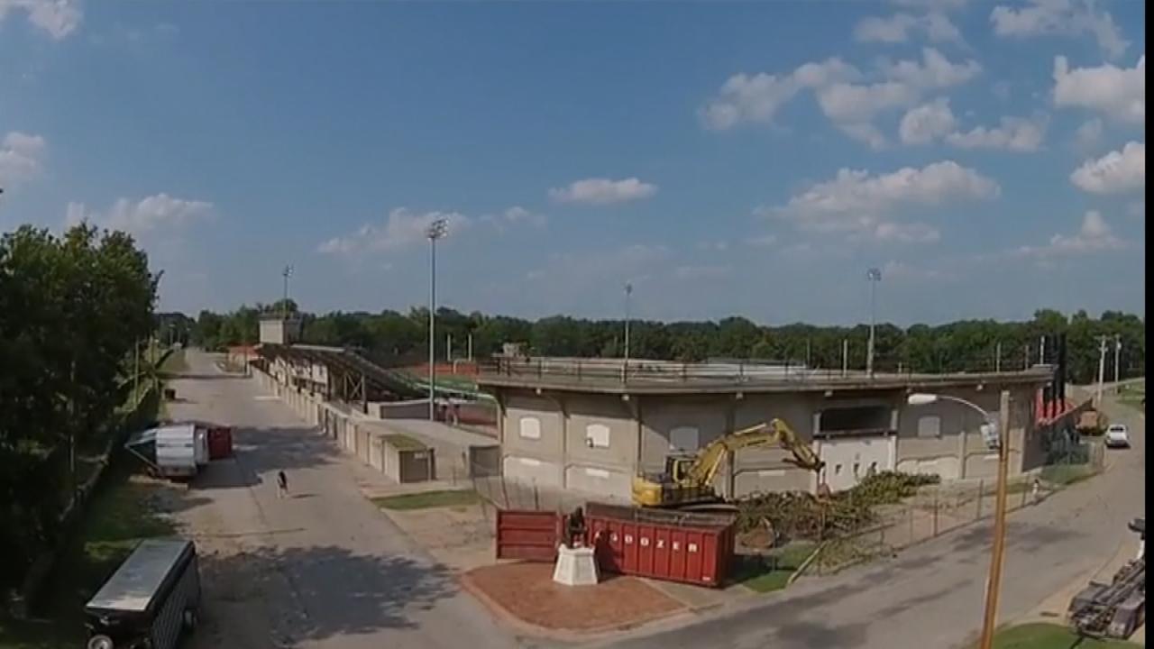 WEB EXTRA: Shulthis Stadium Drone Video Shot By Wayne Joplin
