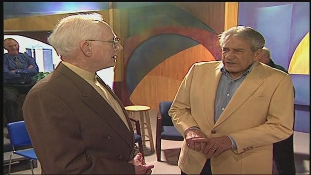 WEB EXTRA: Video Of Harry Volkman's Visit To KOTV in 2005