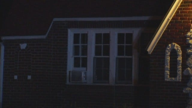 WEB EXTRA: Video From Scene Of Tulsa Home Hit By Gunfire