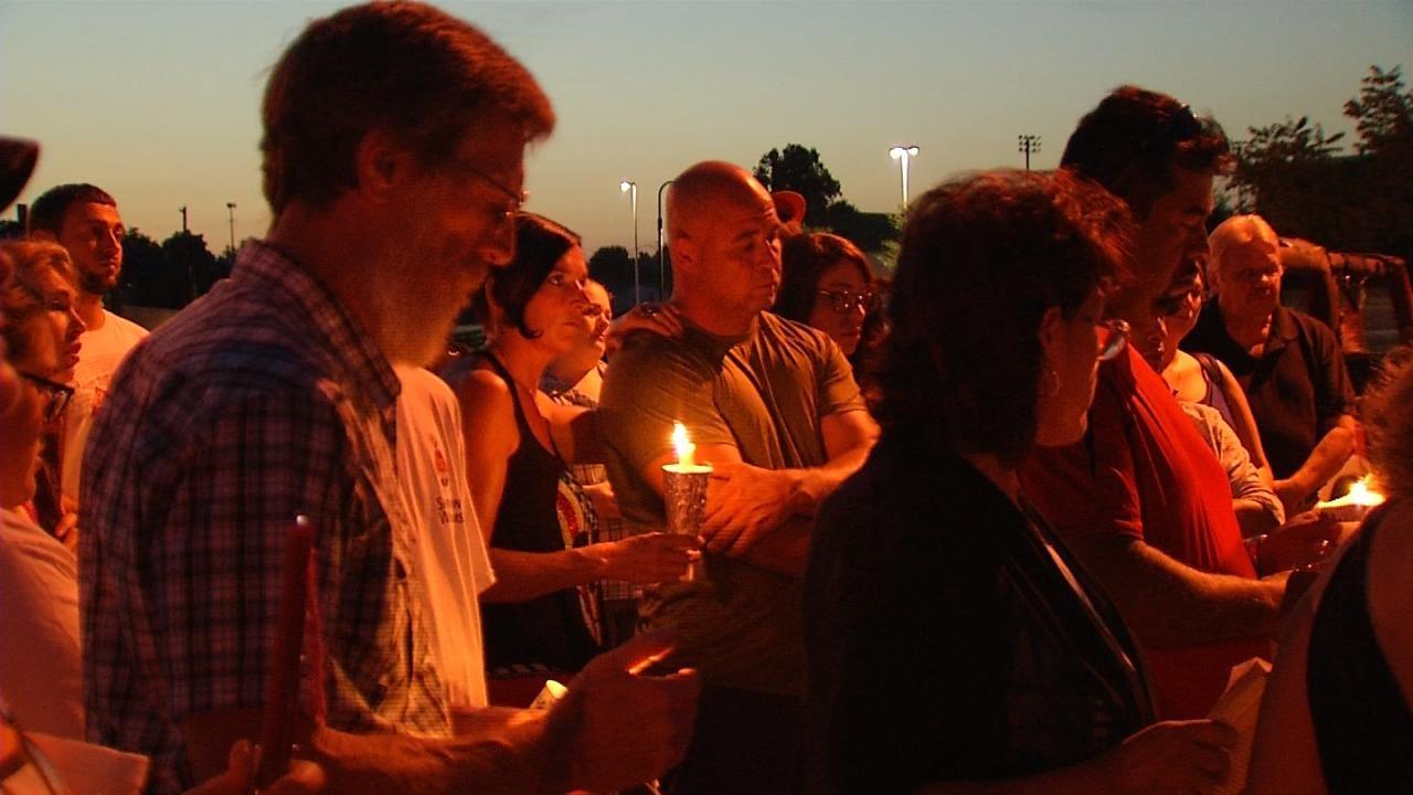 Vigil Held For Owasso Murder Victim; Killer Still At Large