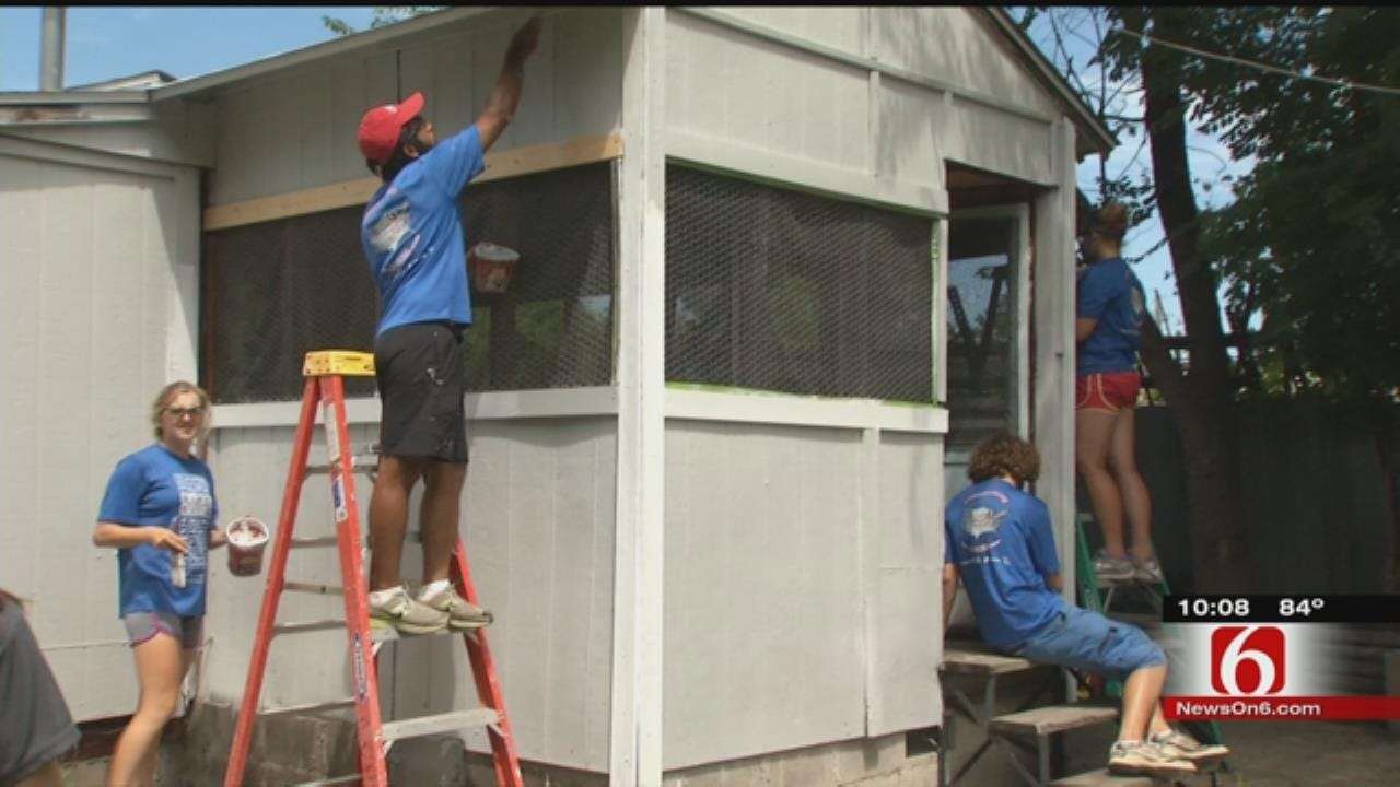 Group Bikes Across America, Stops In Tulsa To Help Habitat For Humanity