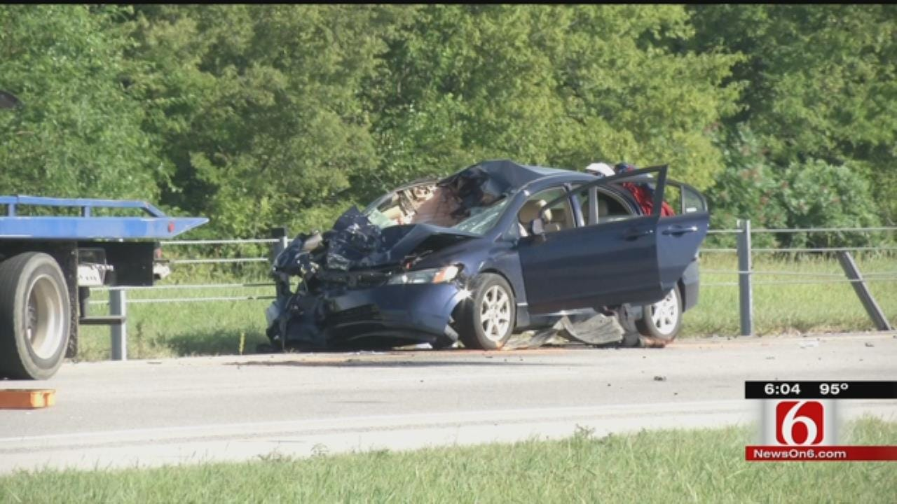 OHP: 3 Killed In Wrong-Way Crash On U.S. 75 Near Sperry
