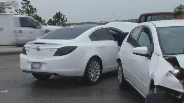 WEB EXTRA: Video From Scene Of Multi-Vehicle Crash On BA Expressway