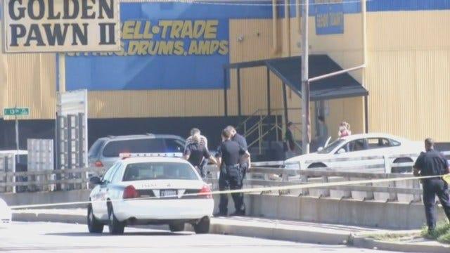 WEB EXTRA: Tulsa Police Try To Talk Man Off Bridge