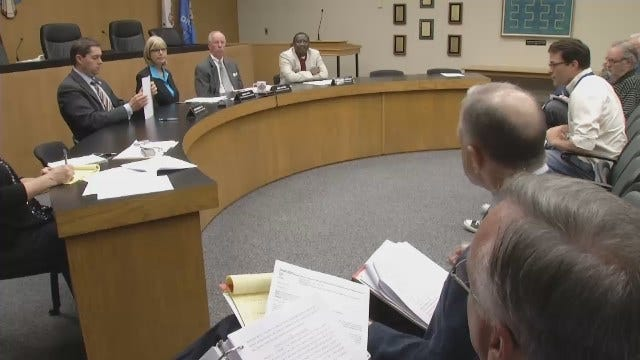 WEB EXTRA: Video From The Tulsa County's Criminal Justice Authority Meeting Friday