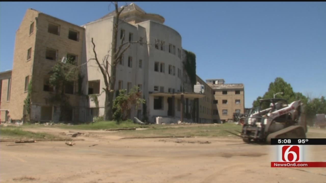 Demolition Begins On Historic Broken Arrow Convent