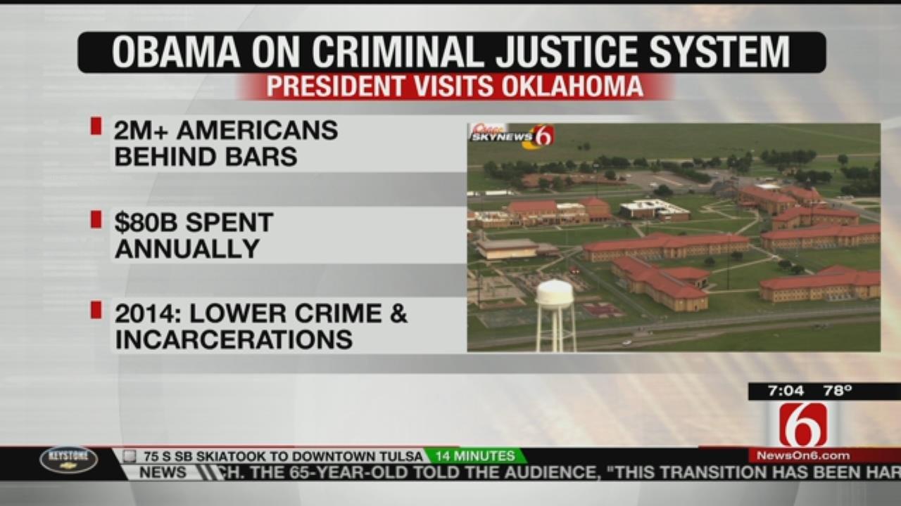 President Obama To Visit Federal Prison In El Reno