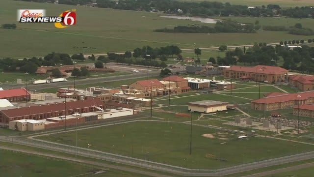 WEB EXTRA: Aerial View Of El Reno Federal Prison From Osage SkyNews 6 HD